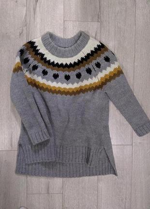 Кофта, свитер, пуловер, реглан, шерсть, натуральный, шерстяной