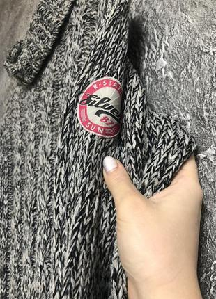 Туника-свитер крупная вязка