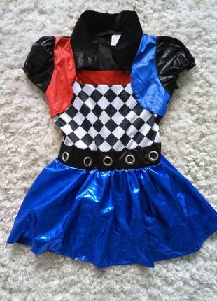 Карнавальный, костюм на хеллоуин харли квин, подруга джокера, мстители
