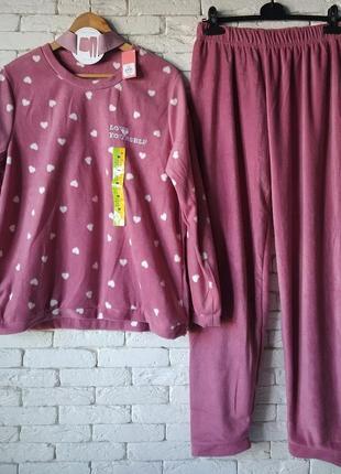 Primark испания флисовая пижама