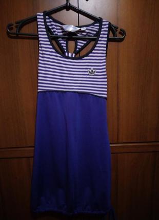 Спортивная туника-платье на ребенка/подростка