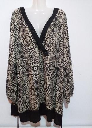 Красивая блуза туничка раз.28
