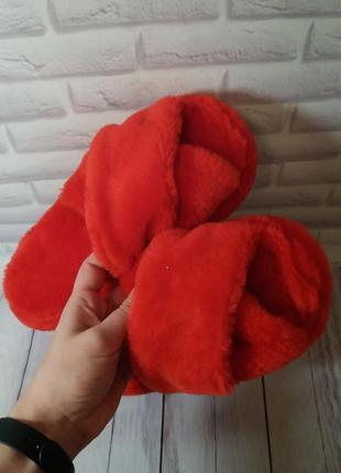 Тапочки для дома комнатные женские жіноча тапки