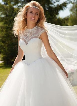 Пишне весільне плаття оксани мухи, платье свадебное