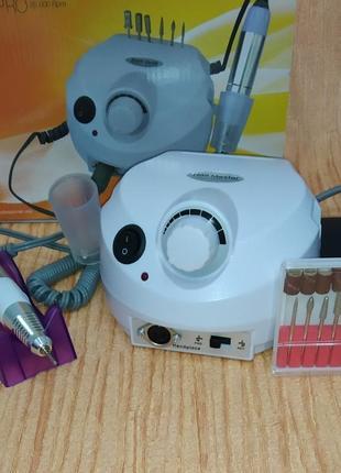 Фрезер машинка для маникюра, наращивания ногтей nail drill zs-601 pro (35000 об/45 вт)