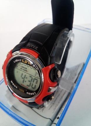 Детские влагозащищенные электронные часы lsh 1009
