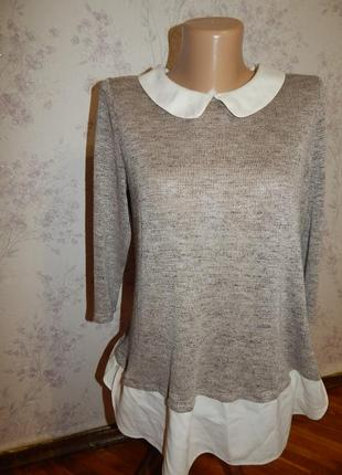 George блузка вискозная стильная модная р14