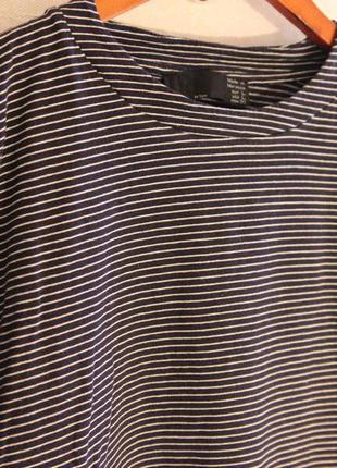 Полосатая кофта с карманами от zara