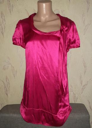 Шёлковое платье, атласный шёлк, шовкова туника.