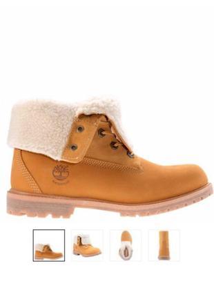 Зимние ботинки timberland! оригинал!