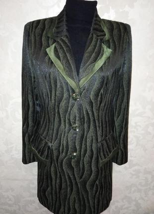 Шикарный женский длинный пиджак