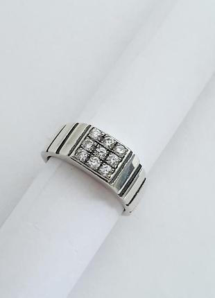 Мужское серебряное кольцо, печатка, перстень
