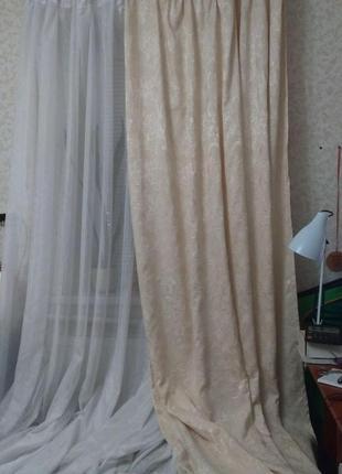 Светлый комплект для небольшого окна