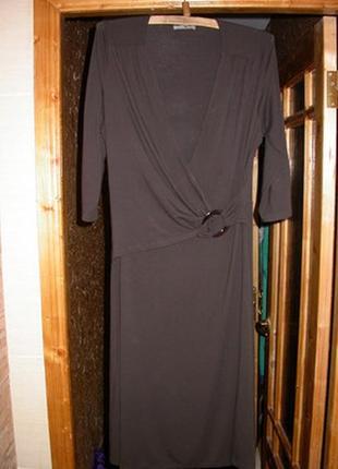 Отличное трикотажное платье. размер 50-54.