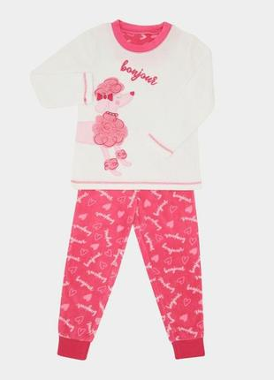 Флисовая пижамка dunnes stores девочкам на 7-8.8-9,9-10 лет