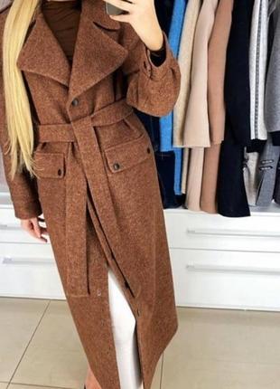 Пальто демисизонное, , одри,,4 фото