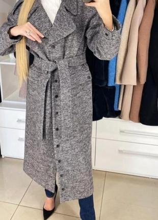 Пальто демисизонное, , одри,,6 фото