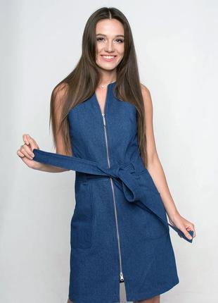 Джинсовое платье ganveri
