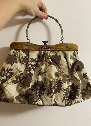Крутая винтажная сумка ретро брендовая  peruna