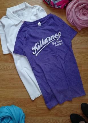 Женская отличная легкая футболка gildan размер 46-48