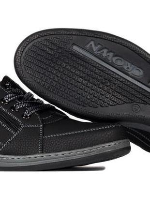 Туфли мужские спортивные кроссовки львовской фабрики (тс-1-с)3 фото