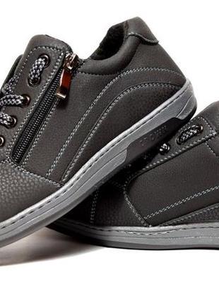 Туфли мужские спортивные кроссовки львовской фабрики (тс-1-с)5 фото