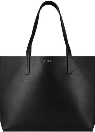 Dkny, черная сумка, шоппер
