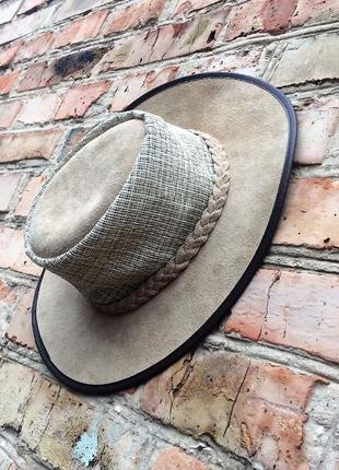 Австралійський літній шкіряний капелюх cobb& co,p.s