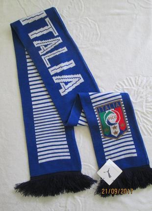 Эксклюзив шарф puma оригинал, федерация футбола италия, швейцария