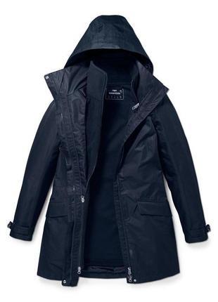 Всепогодное пальто куртка 3 в 1 мембрана 3000 tcm tchibo