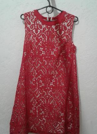 Кружевное  платье больше одежды в профиле