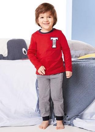 Пижама костюм для дома для мальчика lupilu 1-2 года
