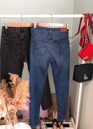 Базовые синие джинсы скинни lee