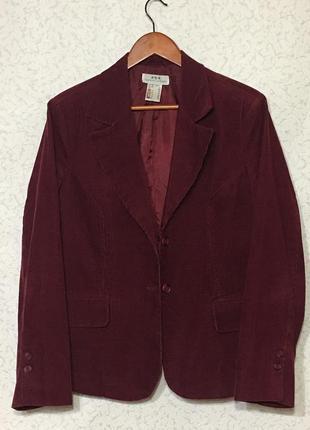 Микровельветовый пиджак бордо ❤️