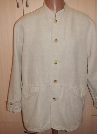 Льняной пиджак armand thiery p.l жакет