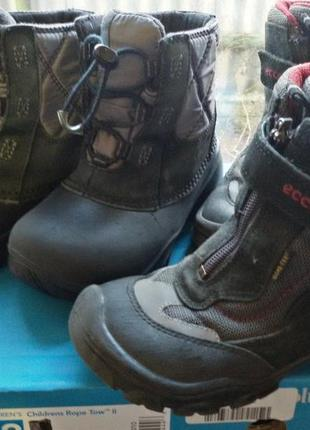 Сапоги, термо ботинки columbia (коламбия)+ботинки ecco в подарок