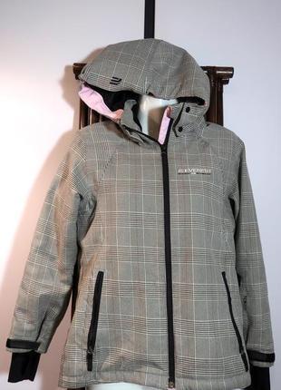 Стильная фирменная спортивная куртка ветровка.