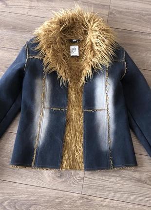 Куртка-дублянка,р.s,