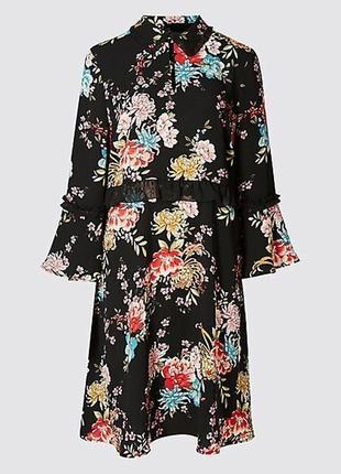 Очаровательное цветочное платье marks & spencer