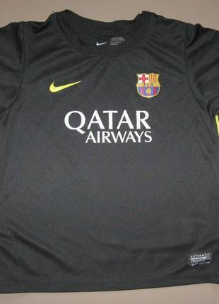 Футболка nike qatar airways dri fit на 6-7 лет