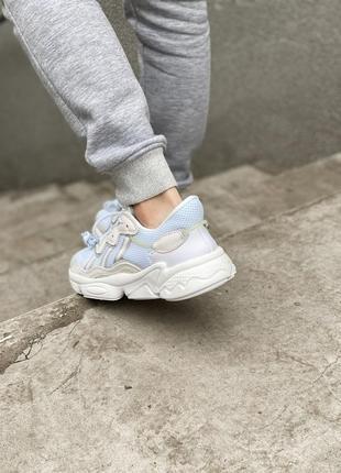 Adidas ozweego adiprene шикарные женские кроссовки адидас5 фото