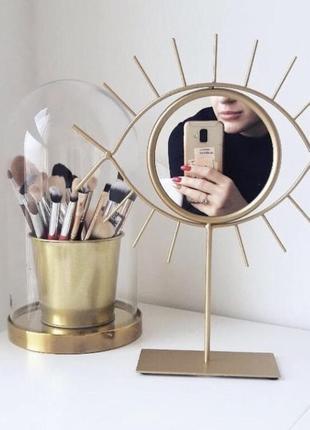 Зеркало в форме глаза 👀