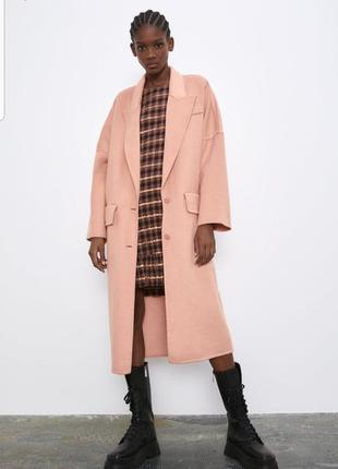 Стильное пальто zara1 фото