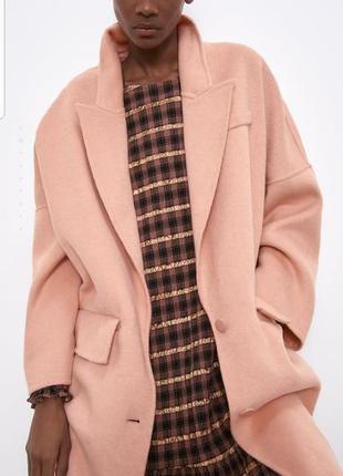 Стильное пальто zara2 фото