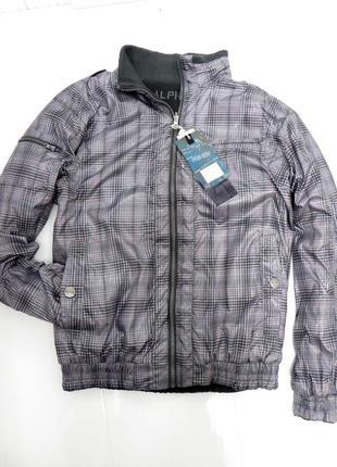 Новая мужская  двусторонняя  куртка л-хл