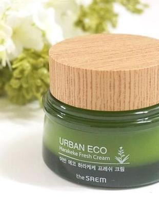Увлажняющий и освежающий крем из эко-линии urban eco harakeke