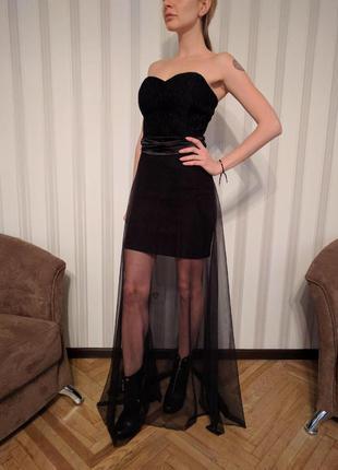 Вечернее платье love republic в пол
