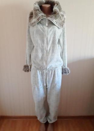 Качественная флисовая пижама от m&s