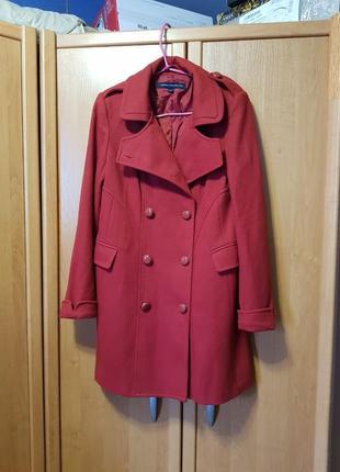 Пальто, шерстяное пальто, осеннее демисезонное пальто, удлинённое пальто, кардиган, тренч
