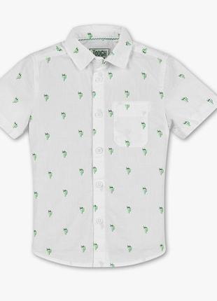 Летняя хлопковая рубашка кактусы